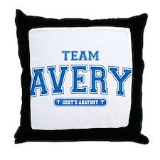 Grey's Anatomy Team Avery Throw Pillow