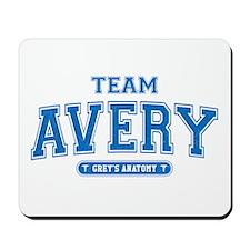 Grey's Anatomy Team Avery Mousepad