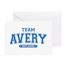 Grey's Anatomy Team Avery Greeting Card