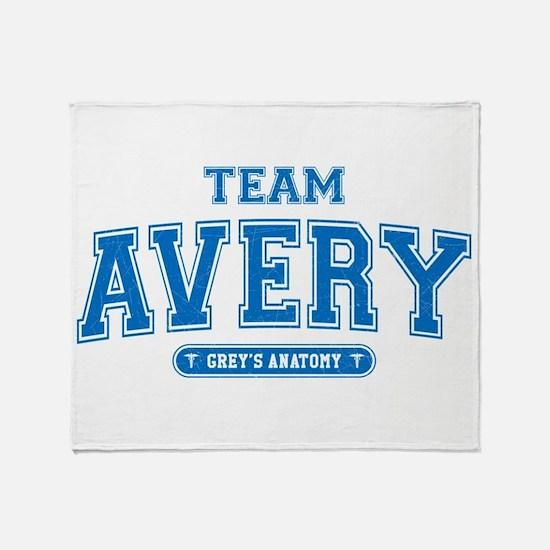 Grey's Anatomy Team Avery Stadium Blanket
