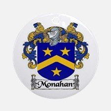 Monahan Coat of Arms Ornament (Round)