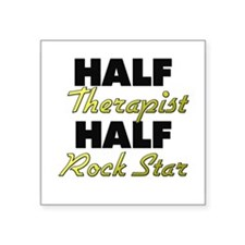 Half Therapist Half Rock Star Sticker