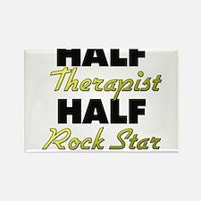 Half Therapist Half Rock Star Magnets