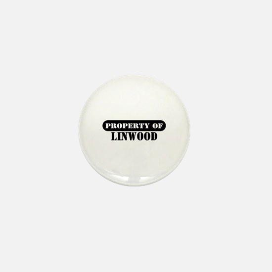 Property of Linwood Mini Button