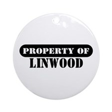Property of Linwood Ornament (Round)
