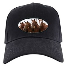 Cute Brown horse Baseball Hat