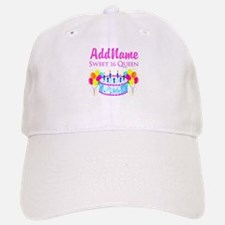 SWEET 16 QUEEN Baseball Baseball Cap