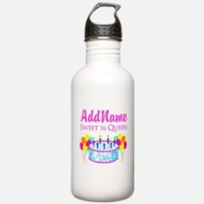 SWEET 16 QUEEN Water Bottle
