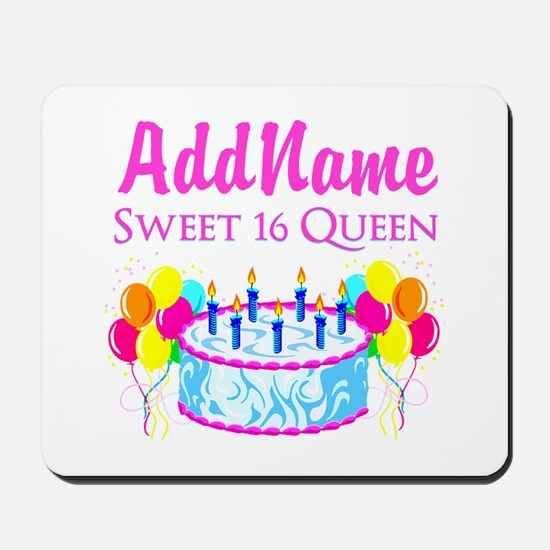 SWEET 16 QUEEN Mousepad