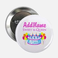 "SWEET 16 QUEEN 2.25"" Button"