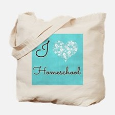 I love homeschool Tote Bag