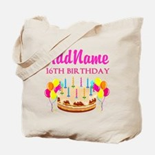 16TH BIRTHDAY Tote Bag