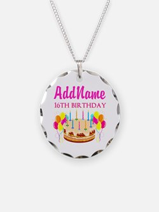 16TH BIRTHDAY Necklace