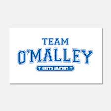Grey's Anatomy Team O'Malley 22x14 Wall Peel