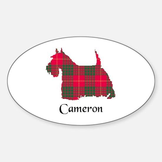 Terrier - Cameron Sticker (Oval)