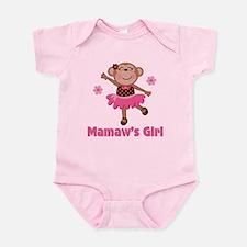Mamaw's Girl monkey Onesie