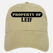 Property of Leif Baseball Baseball Cap