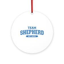 Grey's Anatomy Team Shepherd Round Ornament