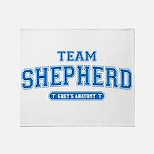Grey's Anatomy Team Shepherd Stadium Blanket