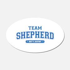 Grey's Anatomy Team Shepherd 38.5 x 24.5 Oval Wall