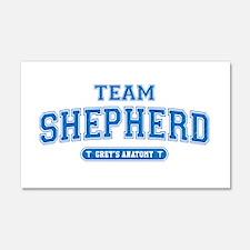 Grey's Anatomy Team Shepherd 22x14 Wall Peel