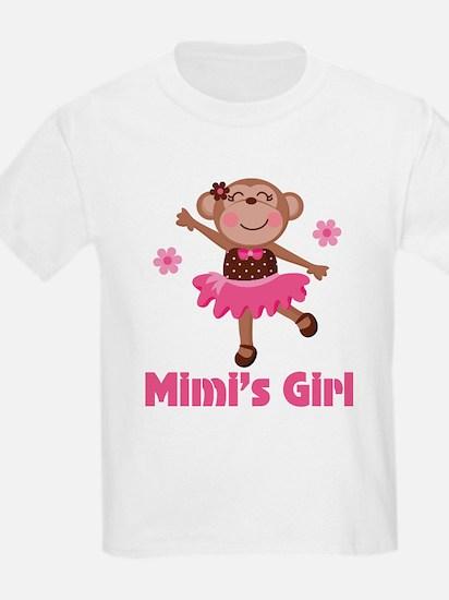 Mimi's Girl monkey T-Shirt