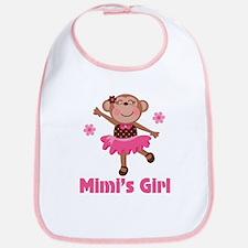 Mimi's Girl monkey Bib