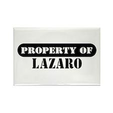 Property of Lazaro Rectangle Magnet