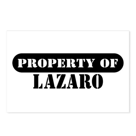 Property of Lazaro Postcards (Package of 8)