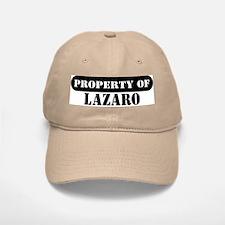Property of Lazaro Baseball Baseball Cap