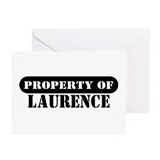 Property of Laurence Greeting Cards (Pk of 10)