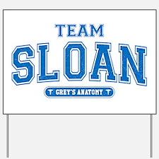 Grey's Anatomy Team Sloan Yard Sign