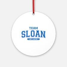 Grey's Anatomy Team Sloan Round Ornament