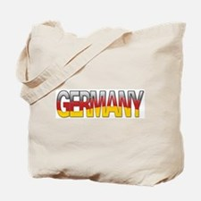 """""""Germany Bubble Letters"""" Tote Bag"""