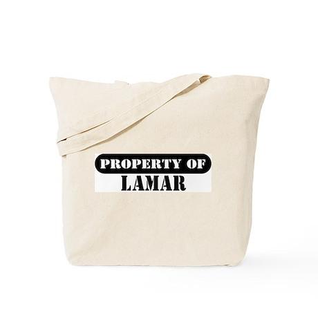 Property of Lamar Tote Bag