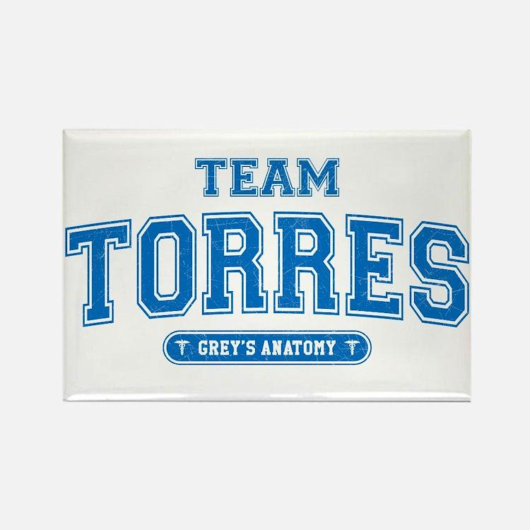 Grey's Anatomy Team Torres Rectangle Magnet