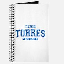 Grey's Anatomy Team Torres Journal