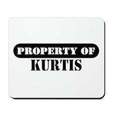 Property of Kurtis Mousepad