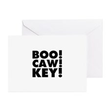 Boo Caw Key Greeting Cards (Pk of 20)