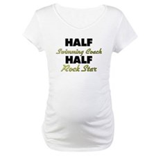 Half Swimming Coach Half Rock Star Shirt