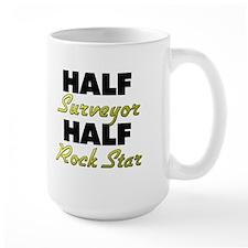 Half Surveyor Half Rock Star Mugs
