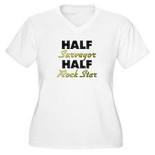 Half Surveyor Half Rock Star Plus Size T-Shirt