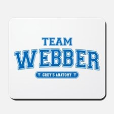 Grey's Anatomy Team Webber Mousepad