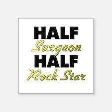 Half Surgeon Half Rock Star Sticker