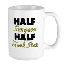 Half Surgeon Half Rock Star Mugs