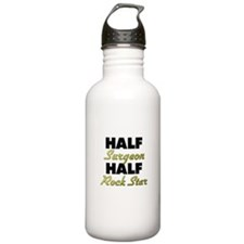 Half Surgeon Half Rock Star Water Bottle