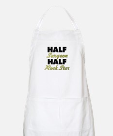 Half Surgeon Half Rock Star Apron