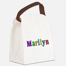Marilyn Shiny Colors Canvas Lunch Bag