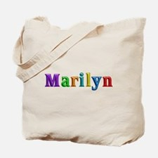 Marilyn Shiny Colors Tote Bag