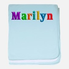 Marilyn Shiny Colors baby blanket